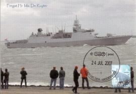MOOI NEDERLAND 2007 - Den Helder Frigate De Ruyter