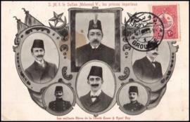 © 1910 - TURKEY Symbols - Star and Crescent