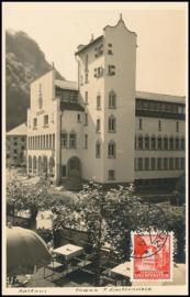 © 1938 LIECHTENSTEIN * City hall Vaduz