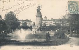 © 1905 - FRANCE Statue of the Republic - Lyon