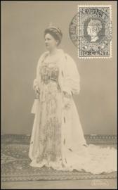 © 1916 NETHERLANDS Queen Wilhelmina