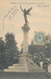 © 1906 - FRANCE Monument for the Children - Meaux