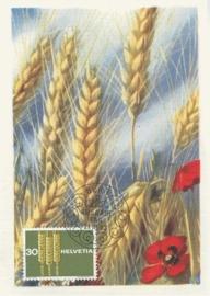 1963 SWITZERLAND Harvest Grain