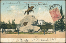 © 1908 ARGENTINA General San Martin