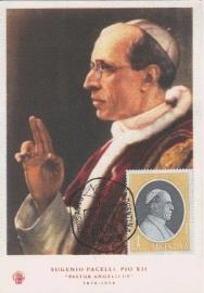 1958 ARGENTINA Pope Pius XII