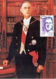 1990 FRANCE - President De Gaulle