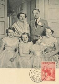 ®® 1943 - NVPH 165 CURAÇAO Koninklijke familie