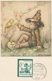 ® 1950 - CATA 565 Kind en vogels