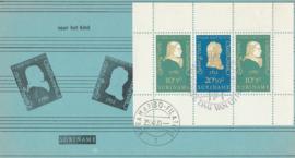 ®®® 1970 - CATA 552 - SURINAME Ludwig von Beethoven - Blok