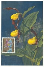 1963 GERMANY - Cypripedium