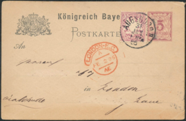 © 1886 - BAVARIA Coat of arms