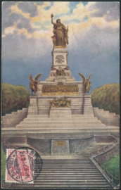 © 1912 - GERMAN REICH - National Statue Germania
