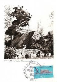 ®®® 1970 - CATA 536 - SURINAME Monument UPU