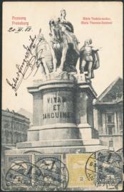 © 1908 - HUNGARY Hungarian crown