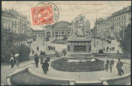 © 1907 SWITZERLAND Shield White cross