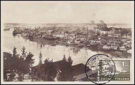 © 1929 - FINLAND Turku harbour