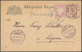 © 1887 - BAVARIA Coat of arms