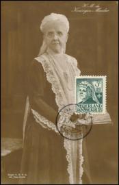 © 1927 NETHERLANDS Queen-Mother Emma