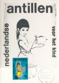 ®® 1970 NVPH 431 NEDERL. ANTILLEN Kind en spaarpot