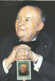 1982 LUXEMBOURG Philosopher Follereau