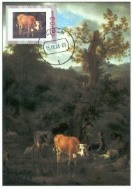 PD05 A. v.d. VELDE Landscape with cattle