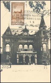 © 1936 LUXEMBOURG Municipal palace