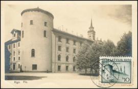 © 1940 - LATVIA Castle of Riga