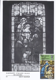 1973 GUERNSEY - Stained glass