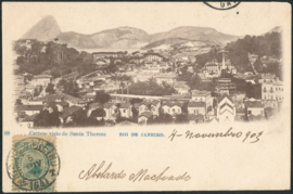 © 1903 - BRAZIL Sugar loaf mountain