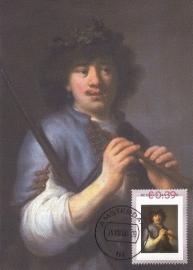 R028 G. FLINCK Rembrandt als herder 1631