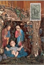 1966 VATICAN - Nativity scene