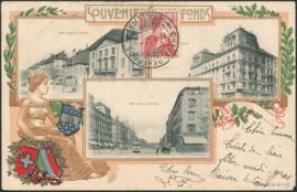 © 1912 SWITZERLAND Helvetia