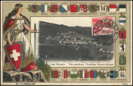 © 1913 SWITZERLAND Helvetia