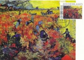 PG034 Van Gogh Red vineyards