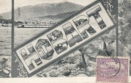 © 1911 - TASMANIA - AUSTRALIA - Hobart