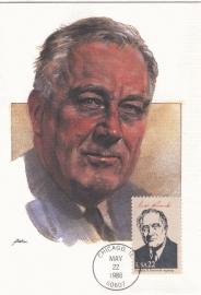 1986 USA - President Roosevelt