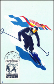 © 1938 - FINLAND Skiing Relay