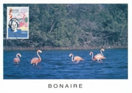®® 1990 NVPH 956 NEDERL. ANTILLEN Flamingo's