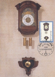 1997 LUXEMBOURG Clock Horloge