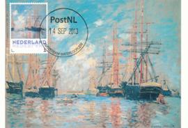 þþ - 2013 Monet The Sea, Port in Amsterdam