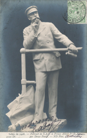 © 1910 - MONACO Prince Albert I