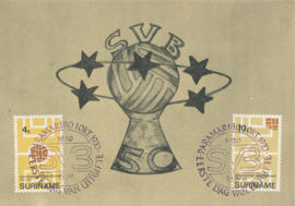 ®®® 1970 - CATA 543/44 - SURINAME Voetbalbond