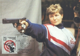 1986 GERMANY DDR - Shooting