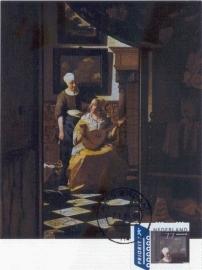 2004 NETHERLANDS Love letter by Vermeer