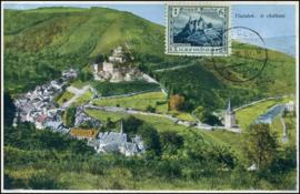 © 1936 LUXEMBOURG Castle Vianden
