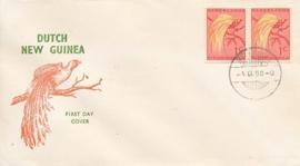 ¤¤¤¤¤ NVPH 25 Ned. Nieuw Guinea Paradijsvogels