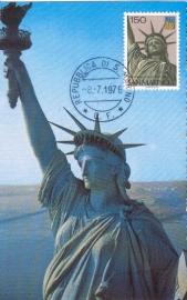 1976 SAN MARINO USA New York Statue of Liberty