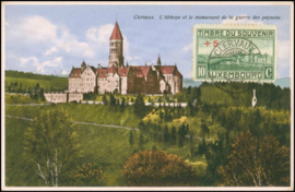 © 1936 LUXEMBOURG Clervaux Abbey