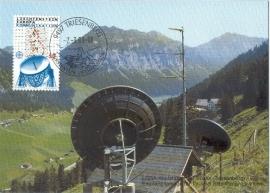 1988 LIECHTENSTEIN Parabolic antenna
