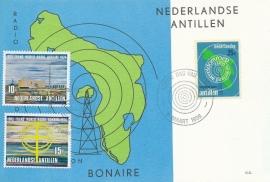 ®® 1970 NVPH 421/22 NED. ANT. Radio Bonaire